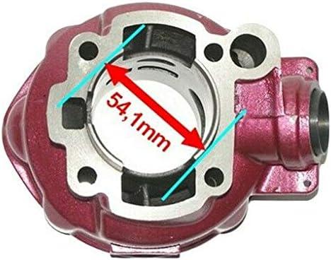 Unbranded 90 CCM Sport Racing Tuning Zylinder KIT Kopf Set f/ür Aprilia RED Rose MX 50 Zylinderkit