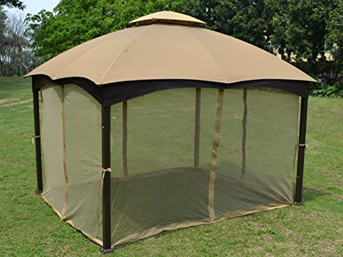 Universal 10 X 12 Gazebo Replacement Mosquito Netting