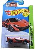 Hot Wheels, 2015 HW Workshop, McLaren P1 [Dark Orange] Die-Cast Vehicle #223/250, 1:64 Scale