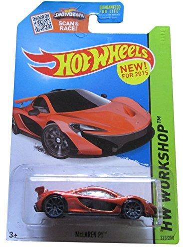 - Hot Wheels 2015 HW Workshop McLaren P1 223/250, Orange