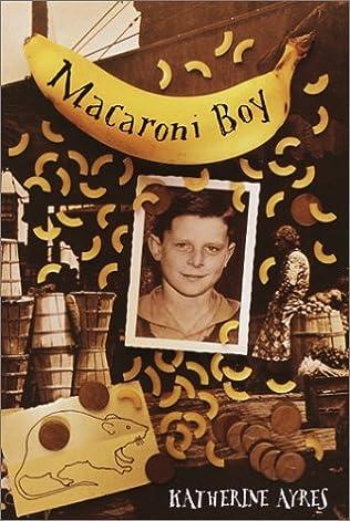 book cover of Macaroni Boy
