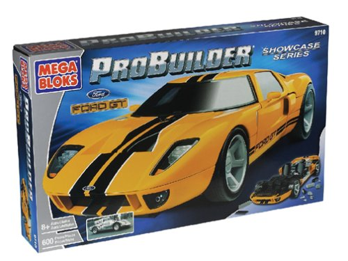 Amazon.com: Mega Bloks Probuilder Ford GT: Toys & Games