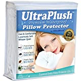UltraPlush Premium Waterproof Pillow Protector - Hypoallergenic & Bed Bug Proof Zippered Pillow Case - 1 pack - Super Soft & Quiet (Body Size 20'' x 54'')