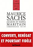 img - for Correspondance 1925-1939 (French Edition) book / textbook / text book