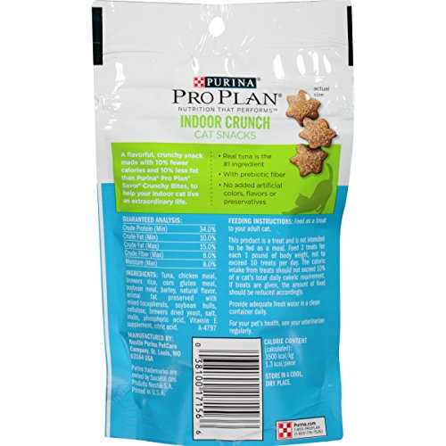 Purina-Pro-Plan-Dry-Cat-Snack-Indoor-Crunch-Reduced-Calorie-with-Tuna-21-Ounce-Pouch-Pack-of-10