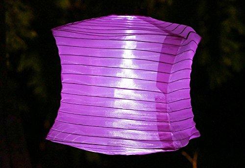 Square LED Solar Lanterns (Set of 3)
