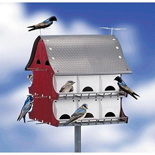 S&k Bh16 16 Family Purple Martin Barn Bird House