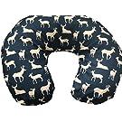 Navy Deers Nursing Pillow Cover