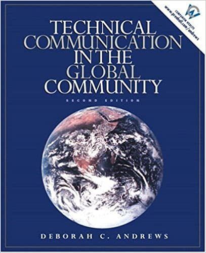 Technical communication in the global community 2nd edition technical communication in the global community 2nd edition deborah c andrews 9780130281524 amazon books fandeluxe Choice Image