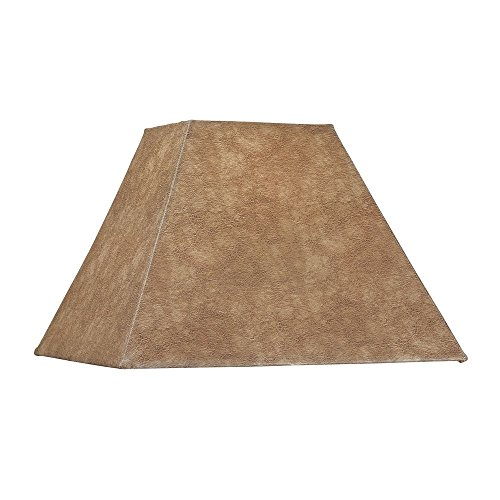 Dolan Designs 140042 Square Soft Back Lamp Shade, Bronze/Dark ()