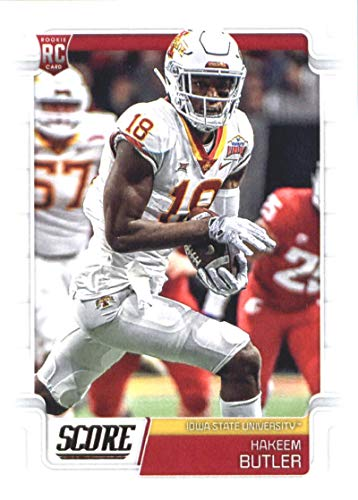 2019 Score Football #350 Hakeem Butler Iowa State Cyclones Rookie Official NFL Trading Card From Panini Cardinals