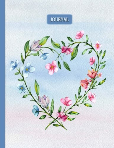 Journal: Floral Heart Design: 8.5