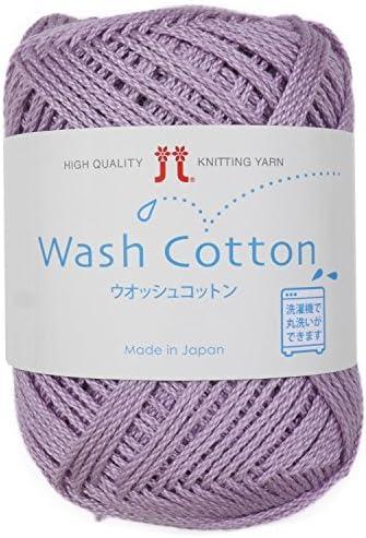 Lavar los hilados de algodón MEDIUM Col.18 Púrpura 40 g 102 m 10 ...