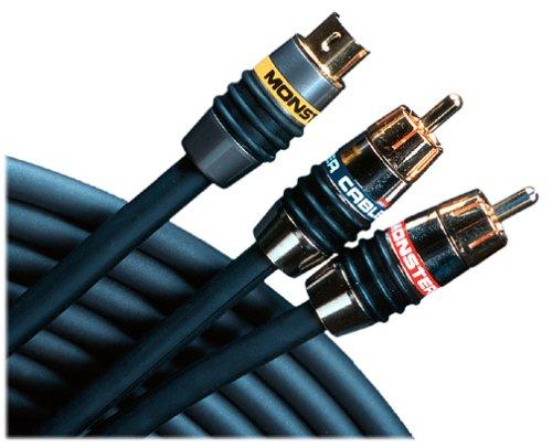 Monster Cable SV2AV25-1M MonsterVideo 2/Interlink 250 A/V Connection Kit (S-Video) 1 m. set (3.28 ft.) (Discontinued by Manufacturer)