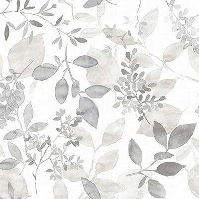 Nuwallpaper Nus3144 Grey Breezy Peel Stick Peel And Stick Wallpaper Buy Online At Best Price In Uae Amazon Ae