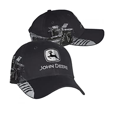 6565831c4 John Deere Hat - Embroidered Combine at Amazon Men's Clothing store