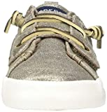 Sperry Girls' Crest Vibe JR Sneaker, White Leather, 9 Medium US Toddler