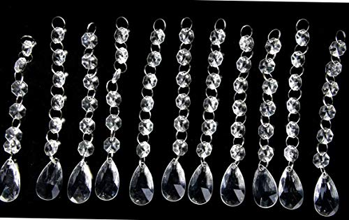 Gatton New Style 30PCS Acrylic Crystal Beads Garland Chandelier Hanging ding Party Celebration Decor ... (Style 1) | Model WDDNG - 153 |]()