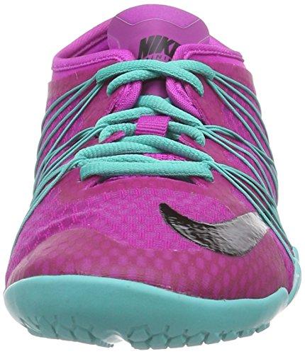 Nike Free Cross Bionic 2 - Zapatillas Mujer Morado (fuchsia flash/blk-lt rtr-white 50)