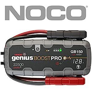 NOCO Boost Pro GB150 4000 Amp 12V UltraSafe Lithium Jump Starter