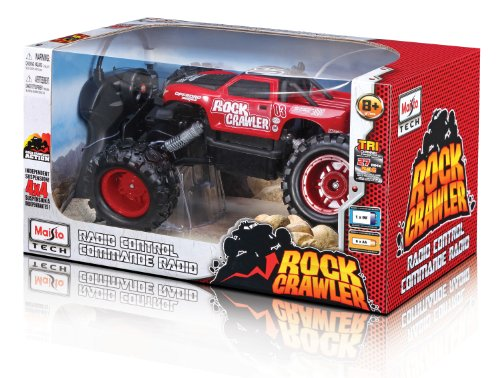 Maisto R/C Rock Crawler (Colors May Vary)