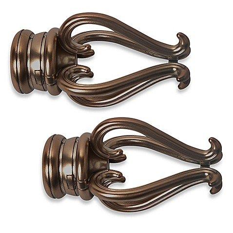 Cambria Premier Complete Florentine Finial in Oil Rubbed Bronze (Set of 2) by Cambria Premier (Image #2)