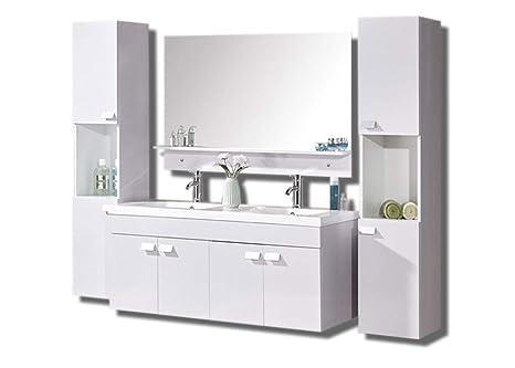 Mobile bagno arredo bagno completo modello white elegance cm