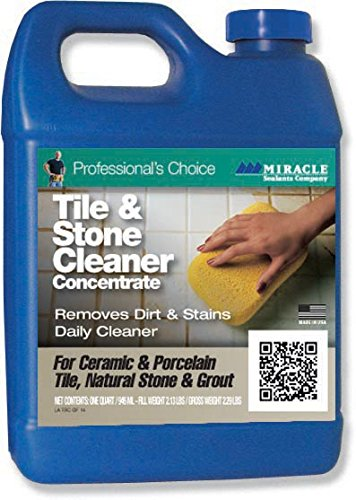 Miracle Sealants TSC QT SG Tile and Stone Cleaner, 1 quart Bottle by Miracle Sealants B00BBEC4C6