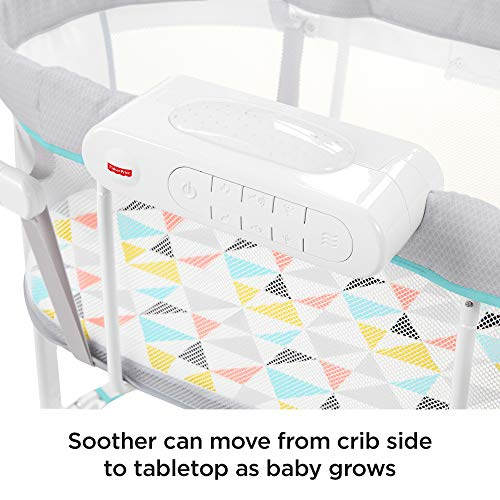 51SA72OrFpL - Fisher-Price Soothing Motions Bassinet, Windmill
