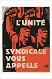 TRADE UNION UNITY vintage poster France 1930 24X36 Strong POLITICAL
