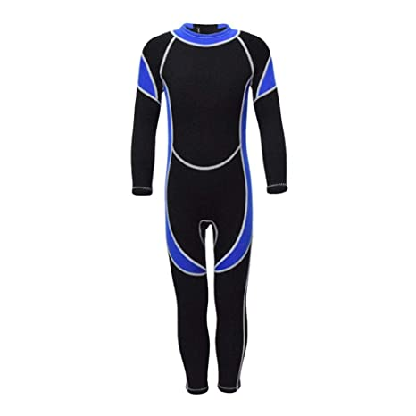 2f36f68e48 Janedream 2.5MM Neoprene Wetsuits Kids Swimsuits Scuba Diving Suits Boys  Girls Guards Clothes Youth for Surfing Snorkeling