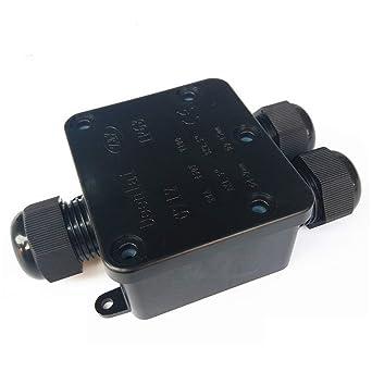 Caja de Conexiones Cable conector, grandes de 3 Vías caja de derivación conector de iluminación