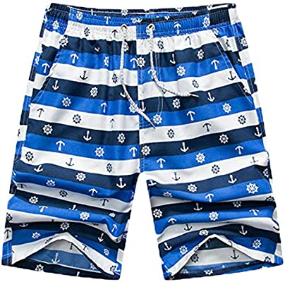WSPLYSPJY Mens Swim Trunks Quick Dry Beach Shorts Surf Shorts