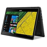 Premium High Performance Acer 13.3 Spin 5 Full HD 1920x1080 Touchscreen 2-in-1 Laptop PC Intel i5-6200U Processor 8GB RAM 256GB SSD 802.11AC WIFI HDMI Bluetooth Webcam Windows 10-Black