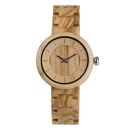Relojes de movimiento de cuarzo, reloj de pulsera de reloj de pulsera de cuarzo de