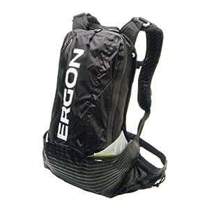 Ergon BX1 - Black - Small - Mochila ( resistente al agua, sistema de hidratación ), color negro, talla S