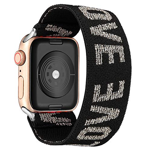 Elastic Watch Bands Replacement for Apple Watch 6, 42mm/44mm Watch Bands for Women Compatible with Apple Watch SE 6 5 4…