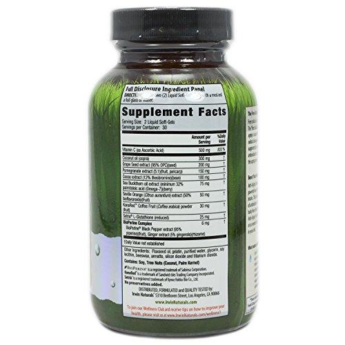 Irwin Naturals Anti Aging Antioxidants Diet Supplement 60 Count Discount
