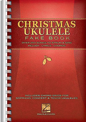 (Christmas Ukulele Fake Book)