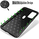 Hifad Case Shock-Resistant Backcover Shell Skin Series Bumper with Backcover Litetective Case Cover for Vivo V21 (Black)