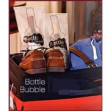 Bottle Bubble Wine Travel Bag, Air Travel Pack, Wine Bottle Carrier, Bottle Holder Set Of 2
