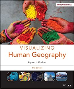 Book Visualizing Human Geography 2e + WileyPLUS Learning Space Registration Card