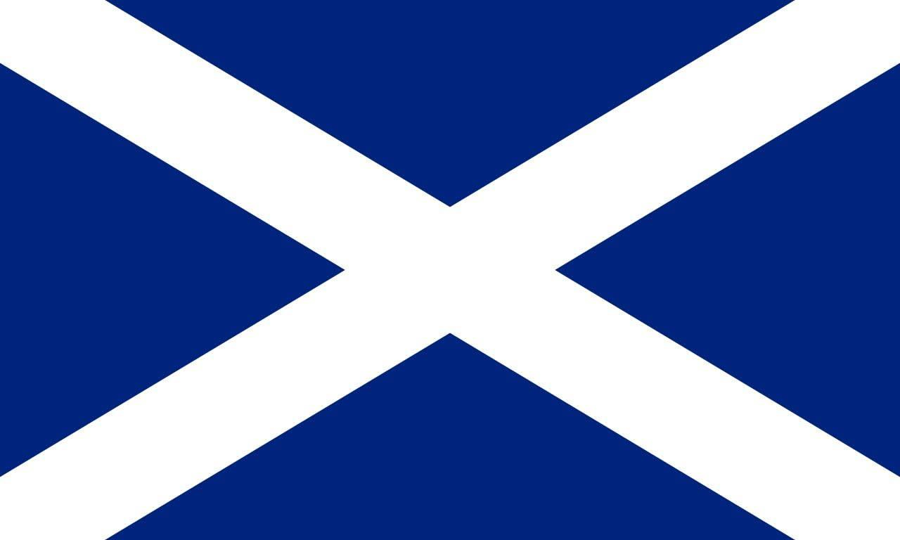 Double Stitched Metal Eyelets 100/% Polyester Scotland Flag 3ft x 2ft Medium