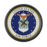 Cheap CafePress – US Air Force – Large 17″ Round Wall Clock, Unique Decorative Clock