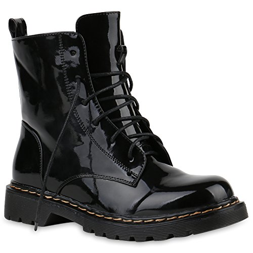 Boots Boots Women's Stiefelparadies Stiefelparadies Metallic Women's Boots Black Women's Boots Metallic Women's Metallic Stiefelparadies Stiefelparadies Black Metallic Black gn7wqx81Z