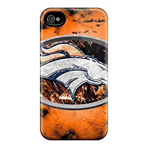 Durable Case For The Iphone 6- Eco-friendly Retail Packaging(denver Broncos) by Maris's Diary