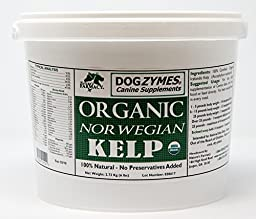 Dogzymes Certified Organic Norwegian Kelp Pet Supplement, 6-Pound