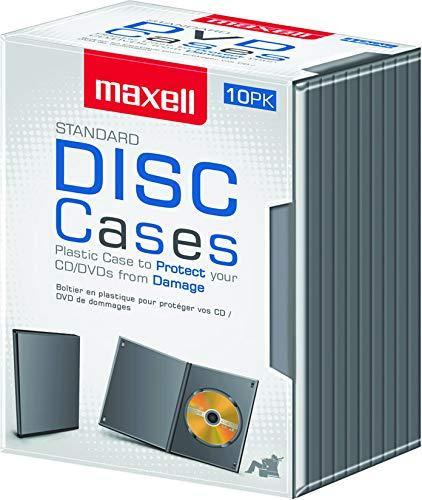 Amazon.com: Maxell dvd-jc10 DVD Caso De Almacenamiento, 10 ...
