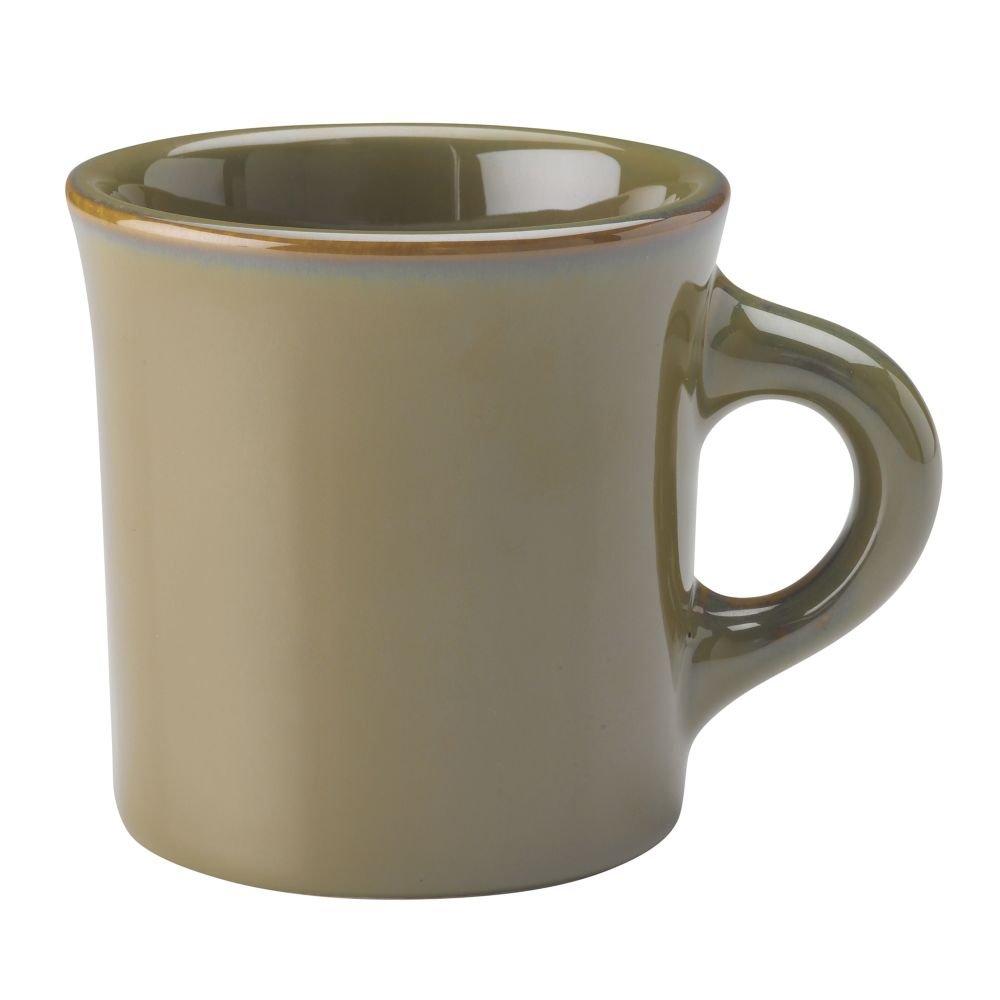 Homer Laughlin China 3009030 Pesto 8.75 Oz Coffee Mug - 36 / CS