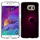 // PHONE CASE GIFT // Fashion Hard Case PC Protective Cover Case for Samsung Galaxy S6 / Lunar Eclipse Moon /